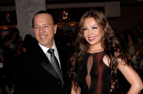 Thalía y Tommy Mottola renovarán votos