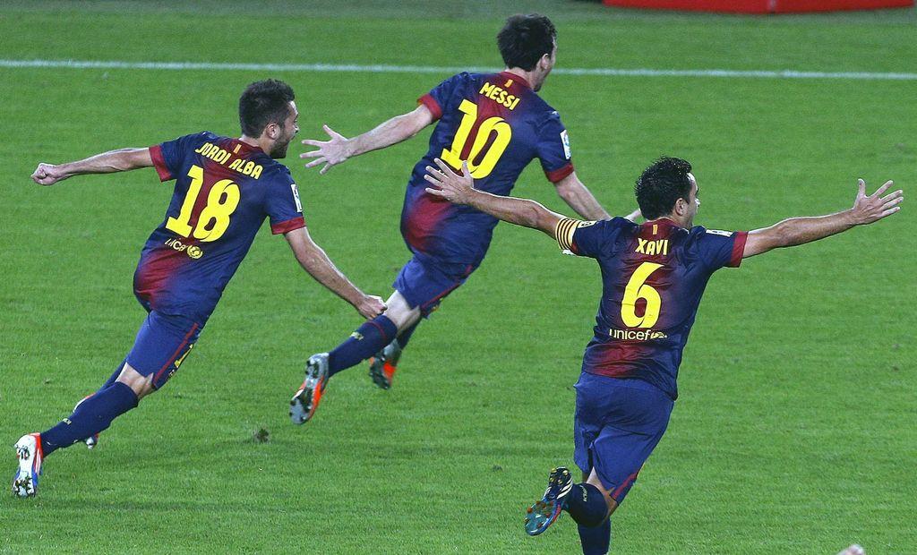 El Barsa, a punto de llevarse la liga en España