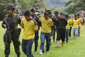 Capturan a 17  de las FARC