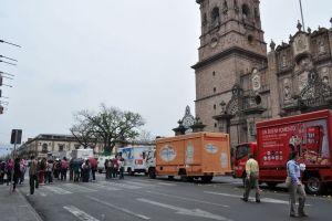 Gobierno michoacano condena saqueos de normalistas