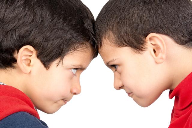 Los niños aprenden a agreder en un entorno agresivo.
