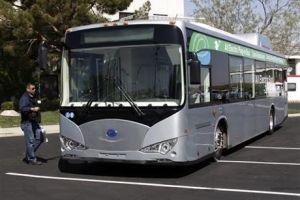 China fabrica autobuses en EEUU