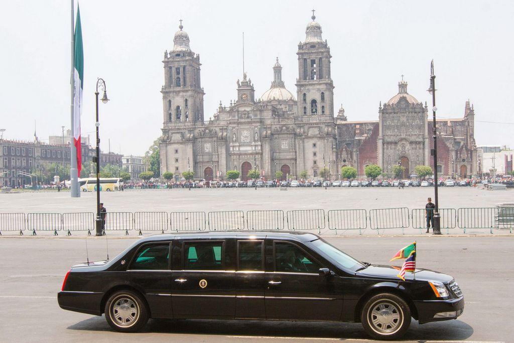 Obama visita la capital mexicana del 2 al 4 de mayo.