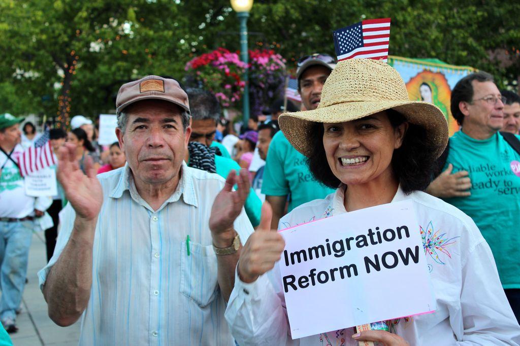 María Marroquín, directora del Centro de Jornaleros de Mountain View, inició un ayuno para que paren las deportaciones.