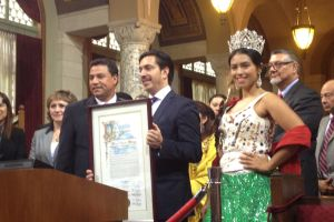 Los Ángeles despide al Cónsul de México David Figueroa