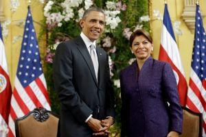 Obama y Chinchilla a favor de más seguridad en Centroamérica