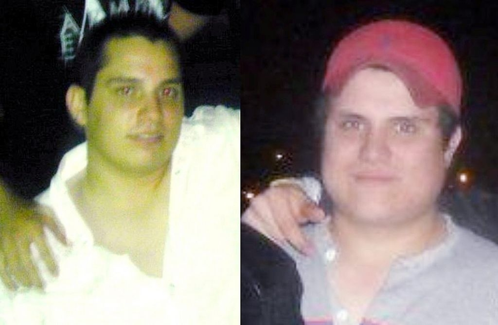 Los jóvenes Páramo González fueron asesinados la noche del domingo.