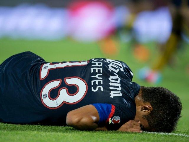 Diego Reyes no jugará la vuelta ante Pumas por lesión