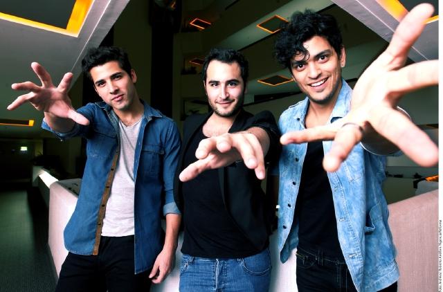Los integrantes de la banda Reik cantarán temas de su más reciente álbum 'Peligro'.
