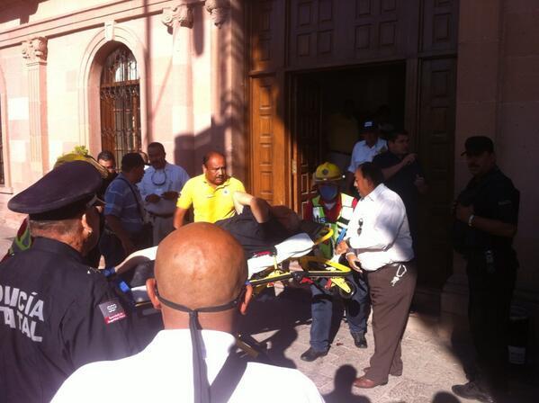 Hombre dispara contra guardias de sede del gobierno de Coahuila