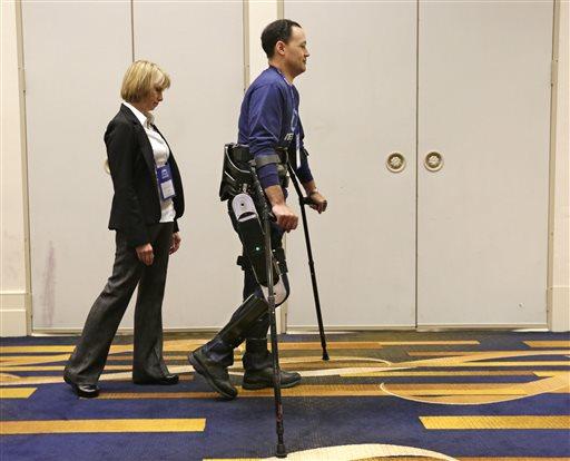 Robots que ayudarán a paralíticos