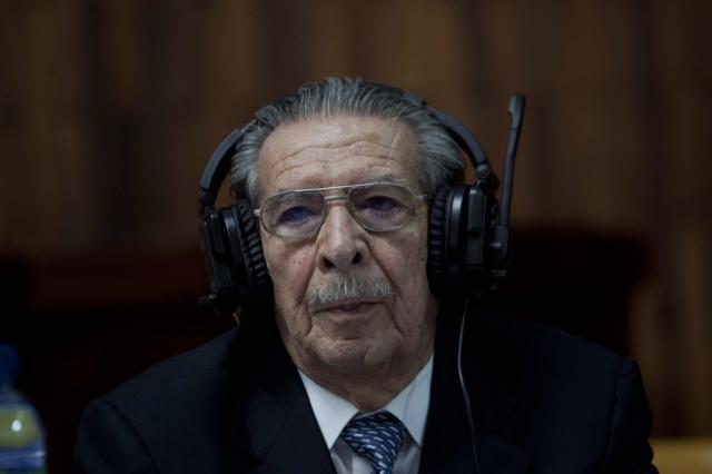 'Soy inocente': Ríos Montt