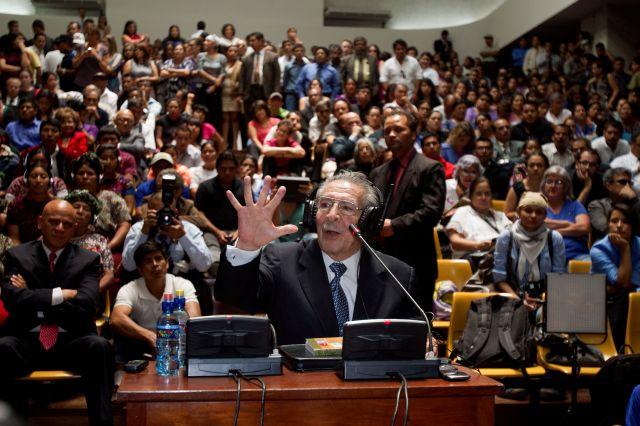 Tribunal emitirá veredicto hoy en juicio a Ríos Montt