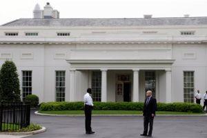 Falla eléctrica generó humo sin daños en la Casa Blanca