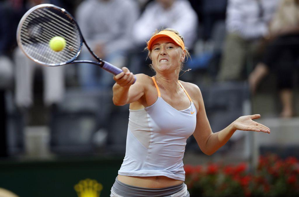 Sharapova buscará su pase a los cuartos de final.