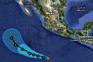 En aguas de México la primera depresión tropical