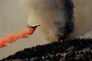 Incendio forestal en Frazier Park quema 3.000 hectáreas