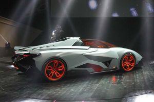 Lamborghini muestra su proyecto 'Egoista'