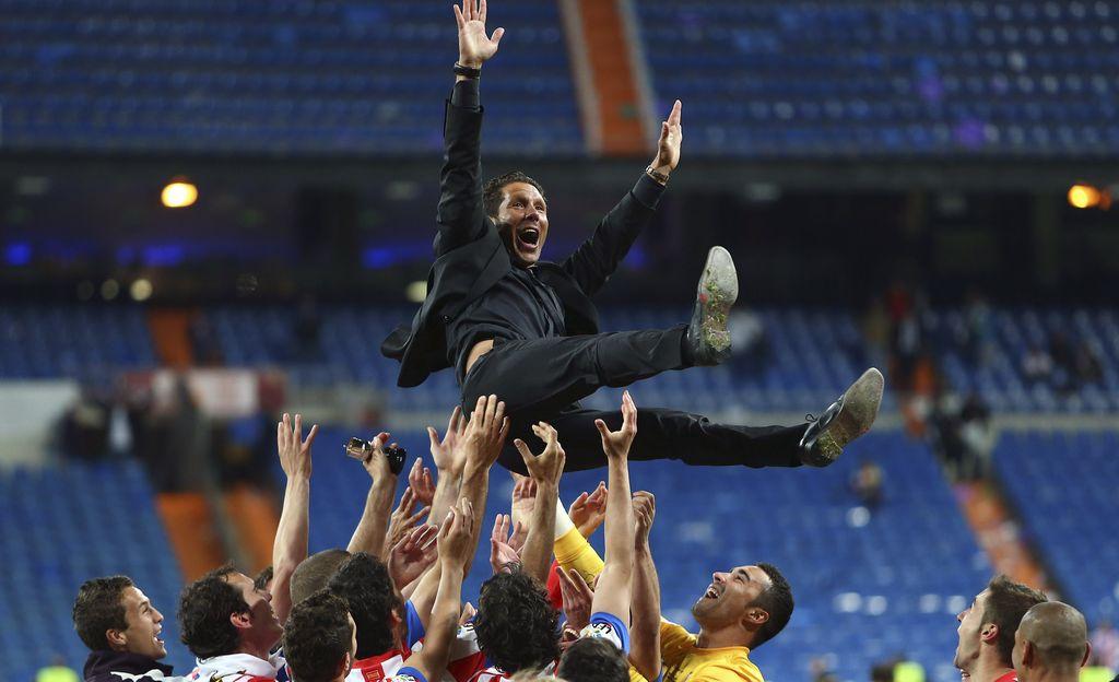 Simeone asegura que Atlético tuvo 'suerte de campeón'
