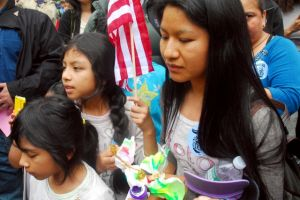 Niños de Nueva York protestan contra las deportaciones