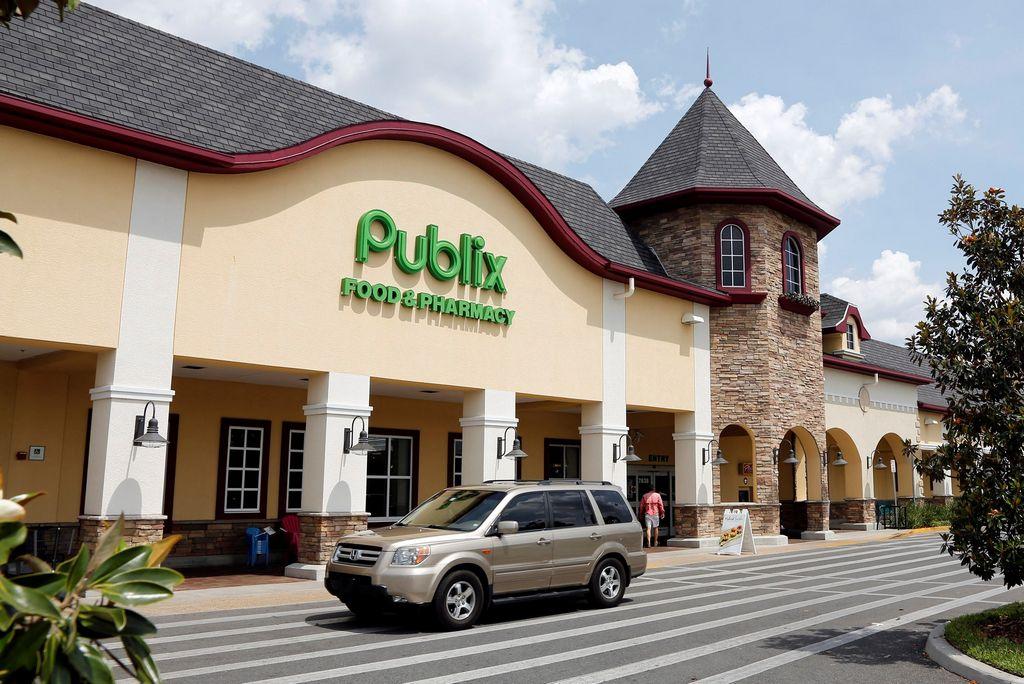 Entrada a un supermercado Publix.