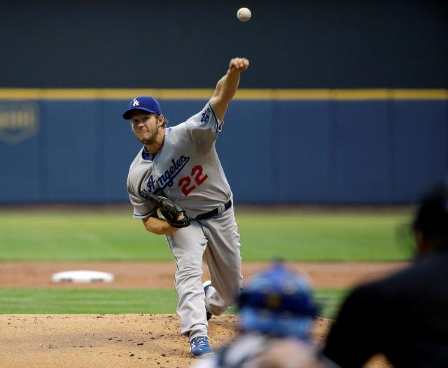 Kershaw pone  alto a la mala racha de Dodgers