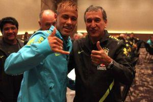 Parreira aconseja salida de Neymar