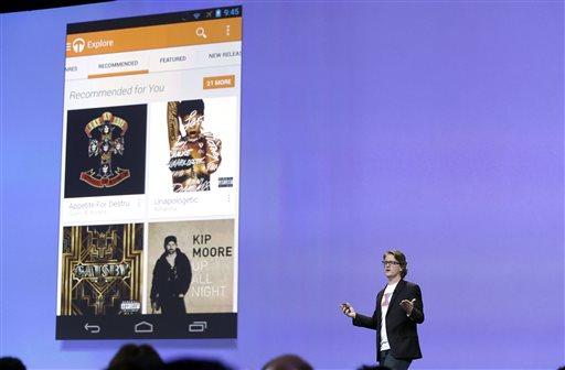 El servicio de música de Google es comparable con la competencia actual