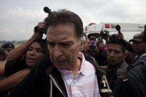 Expresidente Alfonso Portillo es extraditado a NY