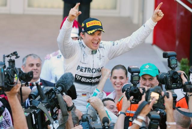 Nico Rosberg…Es amo de Mónaco