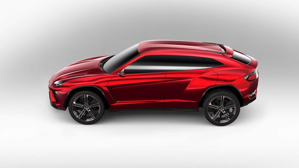 la SUV Urus verá la luz en 2017.