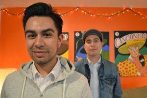 Raúl y Mexía buscan narrar su historia como latinos en EEUU (video)