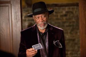 Morgan Freeman encarna a un mago en 'Now You See Me'