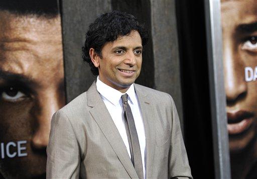 En películas anteriores, el director Shyamalan era parte de la promoción del fílme.
