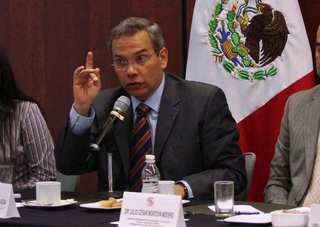 Miguel Ángel Rodríguez, junto a otros legisladores venezolanos, visitan México.