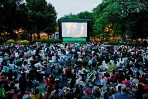 Cine al aire libre exhibirá 195 películas