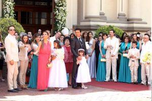 Fernando Colunga celebra la boda más regia