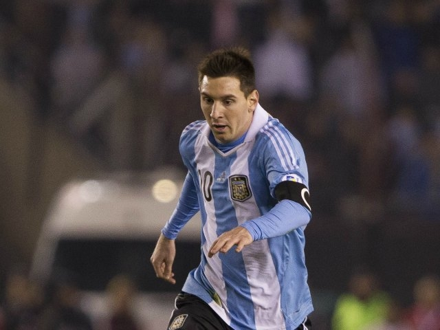 Lionel Messi se entrenó con normalidad