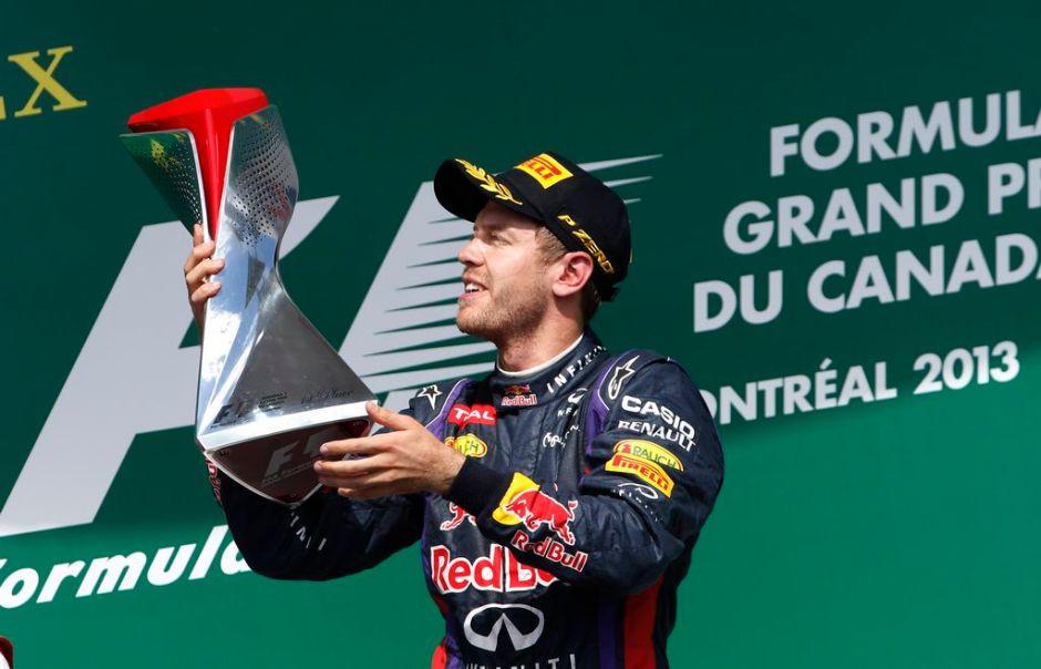 Sebastián Vettel se lleva  el GP de Canadá y Pérez sin puntos