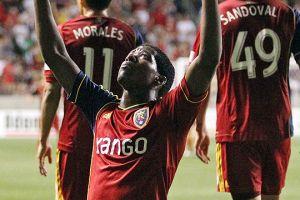 Delantero Olmes García del Real Salt Lake nombrado Jugador de la Semana