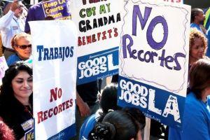 Recortes en cortes de LA perjudicarán a ciudadanos