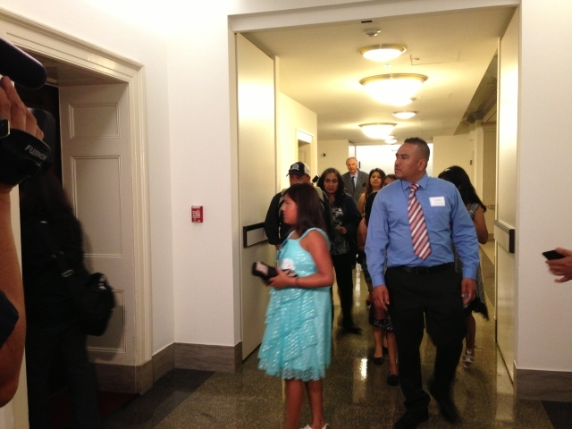 Los niños van al Capitolio a pedir la reforma migratoria