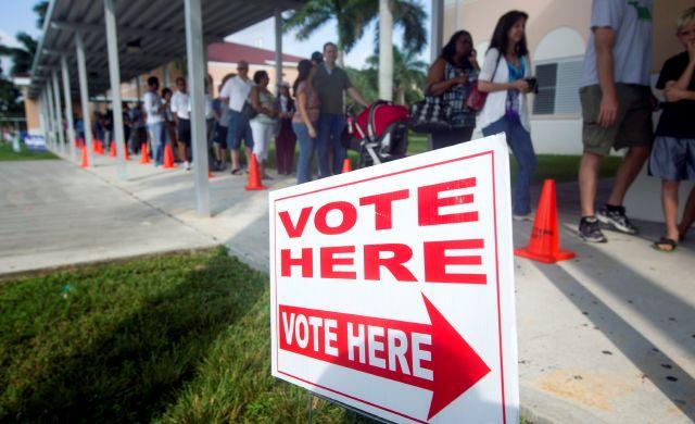 En busca del votante