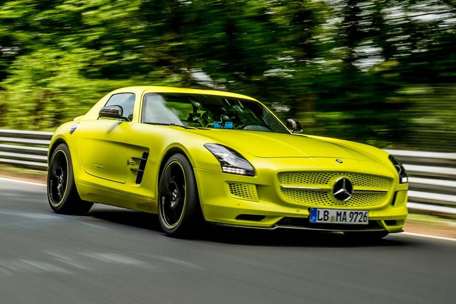 "Mercedes-Benz SLS AMG marca récord ""verde"" en Nurburgring"
