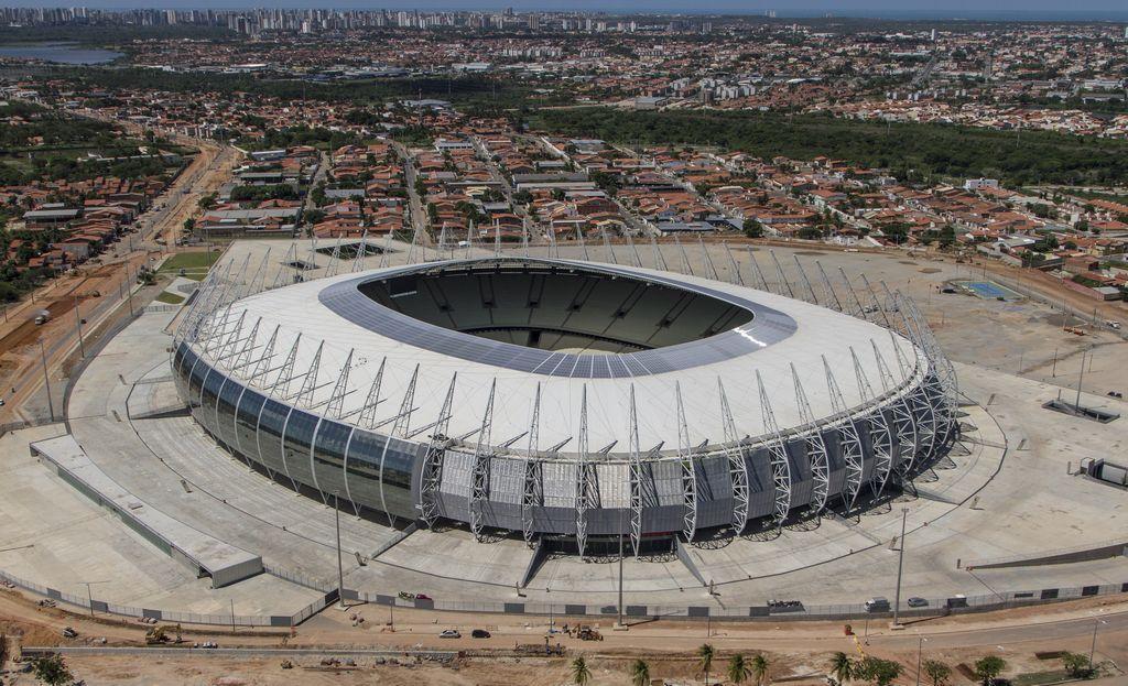 Arena Castelao, escenario del Brasil-México (Video)