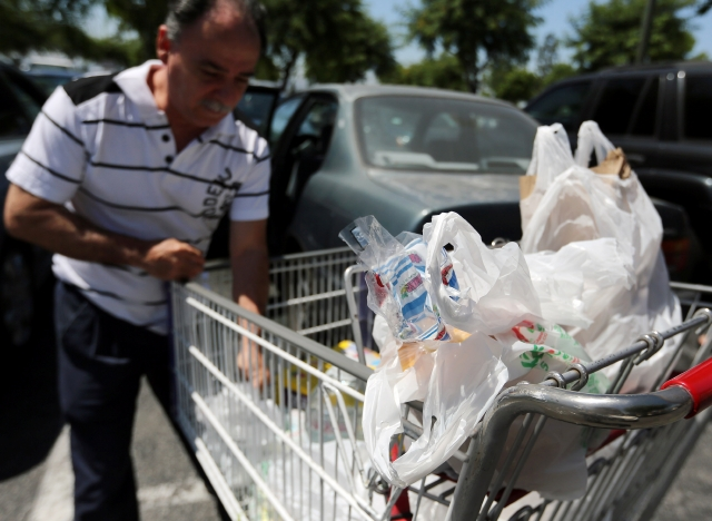 No a  bolsas de plástico en LA