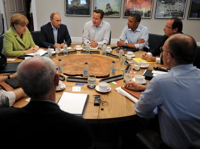 G8:  Siria sobre el tapete