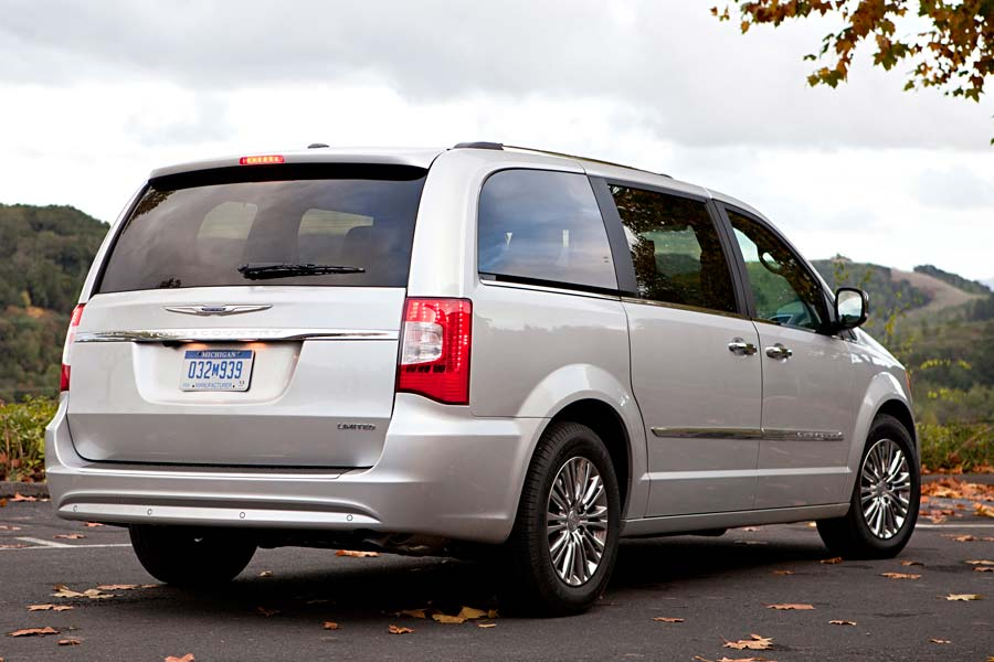 Chrysler Town & Country a prueba de manejo