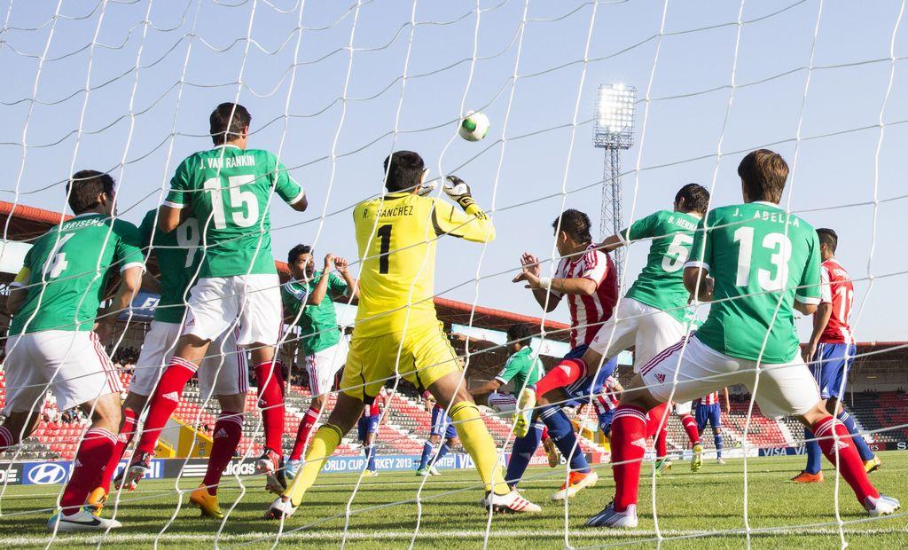 Paraguay vence al 'Tri' y casi lo elimina del Mundial Sub 20