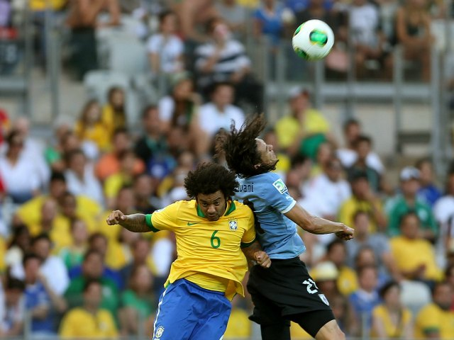 Brasil a punto de ser finalista; 2-1 a Uruguay, 2do. tiempo